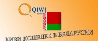 Киви кошелек в Беларуси