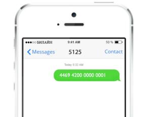 Активация карты Совесть по SMS