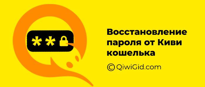 Пароль для киви кошелька, как восстановить или изменить пароль
